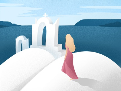 Greece design procreate illustration art