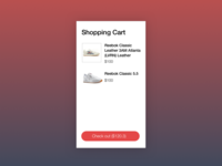 UX challenge - Shopping Cart