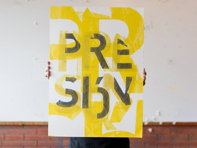Presión | Poster graphic design poster logo illustration icon typography design