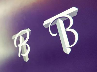 T+B Logo concept concept tb bt logo