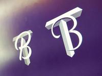 T+B Logo concept