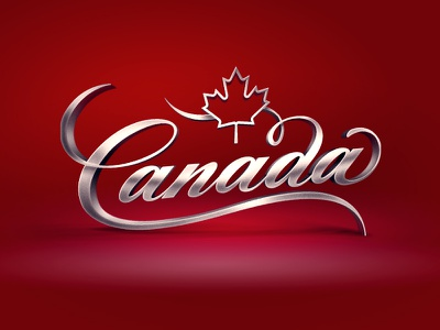 Canada c canada lettering calligraphy logo typography type logotype hand lettering