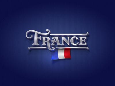 France f france lettering calligraphy logo typography type logotype hand lettering