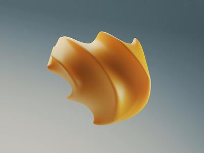 Softness experiment art abstract art loop yellow
