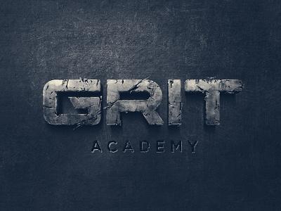 GRIT Logo type typography branding logo