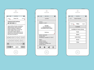 Wireframes interface iphone user experience ios balsamiq ui ux wireframe wireframes