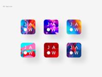 JAOW app icon concepts