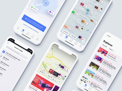 Events on map uxdesign userinterface uiux uidesign sympla map interaction design events app design