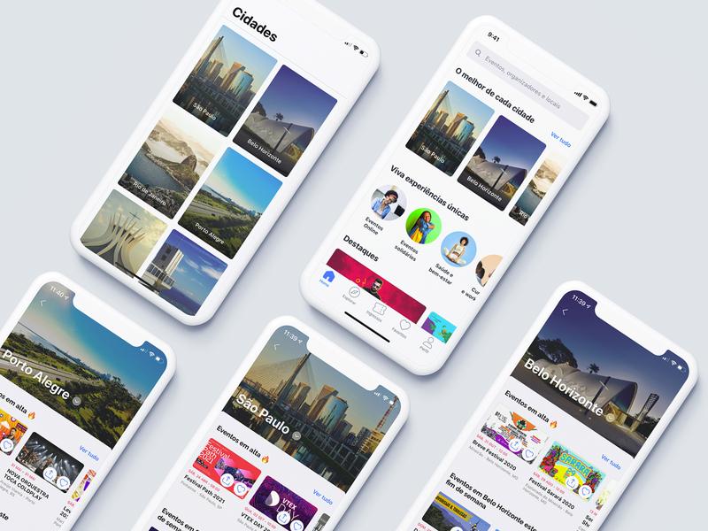 The best of each city - app uxdesign userinterface uiux uidesign sympla interaction design events app design