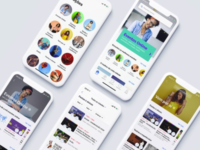 Collections - app sympla events uidesign app design uxdesign userinterface interaction design