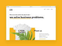 Web site for developers team