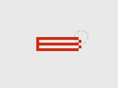 BeCoffee draft design logo logotype brand