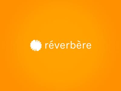 Reverbere-Logo monogram design brand logotype identity branding logo