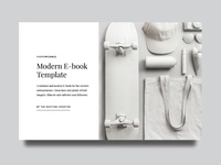 Modern E Book Cover
