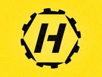 left-over logo idea for a construction equipment rental company