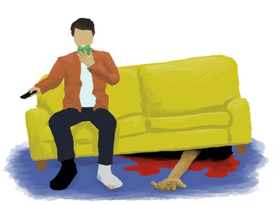 Victim of Love (Seat) twitch illustration digital