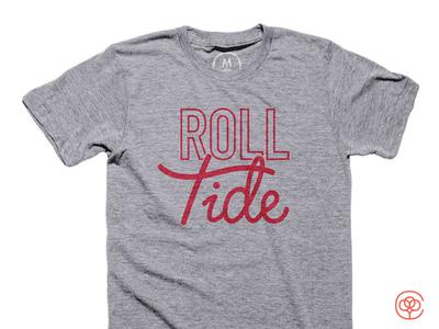 Roll Tide alabama roll tide debut t-shirt cotton bureau