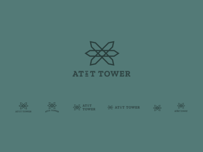 AT&T Tower Unused Logo Concepts