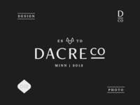 Dacre Co. Branding