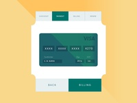 Daily UI #002 || Credit Card Checkout