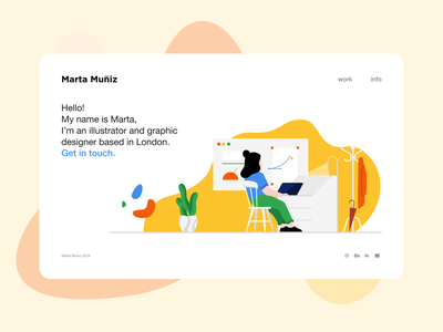Portfolio design web visual design hiring graphic designer portfolio design portfolio portfolio website branding colorful dailyui logo ui design vector illustration