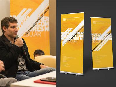 ISEC web design web university print exhibition college branding