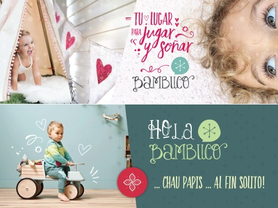 Bambuco playful logo kids design kids art kids infantil infant furniture decoration colorful child theme children child branding design branding and identity branding