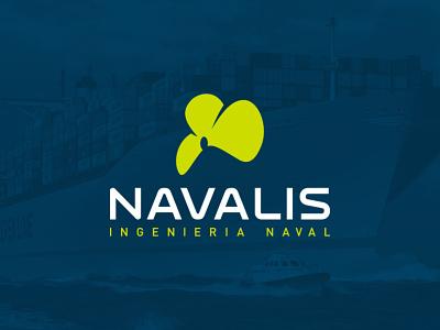 Navalis engineering naval logotype logos logo design logodesign logo identity design identity branding idenity branding design branding concept branding and identity branding agency branding brand design brand