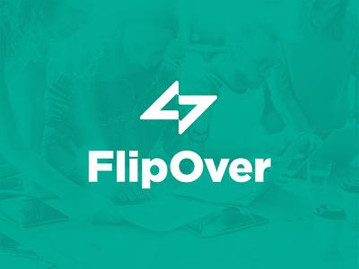 FlipOver logotype logos logo design logodesign logo identity design identity branding idenity branding design branding concept branding and identity branding agency branding brand design brand