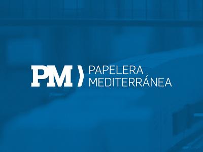 Papelera Mediterránea paper industrial cardboard box cardboard logotype logos logo design logodesign logo identity design identity branding idenity branding design branding concept branding and identity branding agency branding brand design brand
