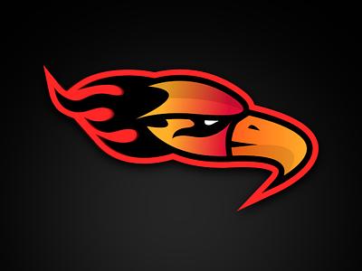 INFLAMES mascot logo flames esports fire
