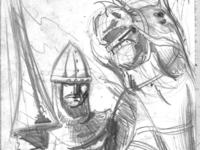 Frankish Knight sketch
