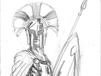 Spartan cheiftan