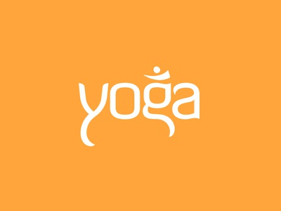Yoga Show Logo art direction graphic design production show title yoga typography