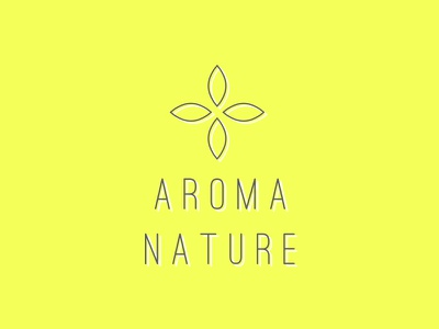 Aroma Nature Logo 1 identity branding water drop water droplet water essential oils essential oil work in progress logo design leaf aromatherapy logo