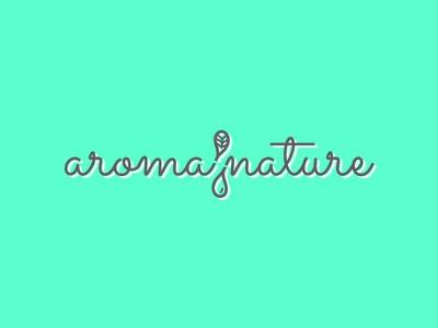 Aroma Nature Logo 2 identity branding water drop water droplet water essential oils essential oil work in progress logo design leaf aromatherapy logo