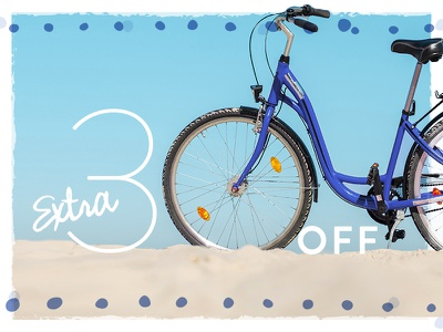 30% Off Email sale digital marketing email marketing email marketing texture object as type tire 30 beach theme bike beach