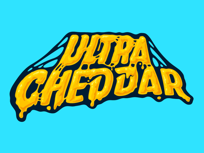 Ultracheddar melting liquid fudge flavor cheese cheddar