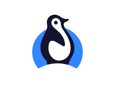 Antarctica for the Brave cold blue geometric vector simple cute chubby minimal icon iceberg snow south pole north pole animal ice arctic brave antarctica antarctic penguin