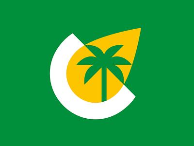 Colombian Palm Oil (Concept Logo) minimal abstract logo colombiano colombia colombian palma oleo aceite oil palm tree palm