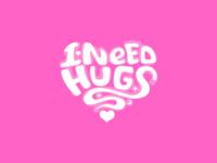 I Need Hugs <3 design art t-shirt tee shirt zilux heart want love need snuggle cuddle hugging hug hugs