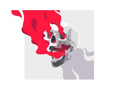 Skull tee t-shirt shirt art design zilux lonely cactus cactus lonely head skull