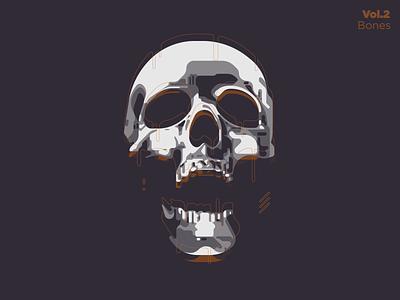 Dead cacti cactus lonely apparel t-shirt tee shirt art design zilux glitch bone bones dead death skull