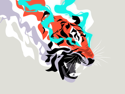 A Tigers Fury art design zilux predator tigers fury panther cat rage tiger