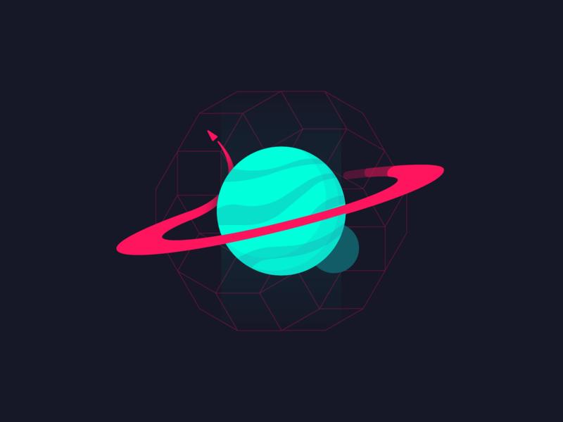 In Orbit design shirt zilux galaxy trail orbiting way milkyway milky stars matrix ship spaceship rocket ring moon sun space planet orbit
