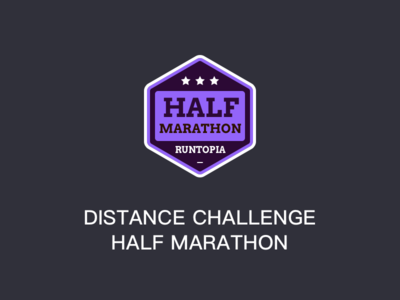 Distance Challenge Half Marathon