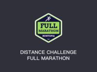 Distance Challenge Full Marathon