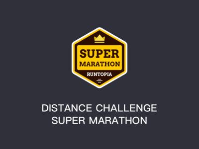 Distance Challenge Super Marathon