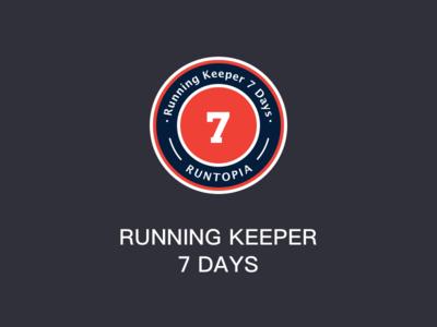 Running Keeper 7 Days