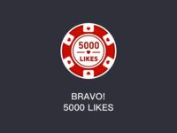 BRAVO! 5000 LIKES